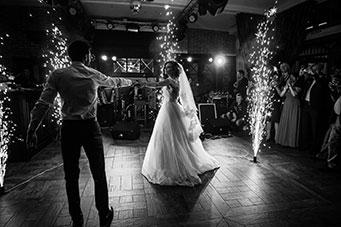 A couple enjoying our wedding DJ in Perth